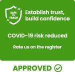 COVID-19 risk reduced